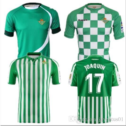 2019 2020 Real Betis soccer Jersey 19 20 home limitada JOAQUIN WILLIAM  BOUDEBOUZ C  TELLO A  GUARDADO HULIO thai quality camiseta de futbol