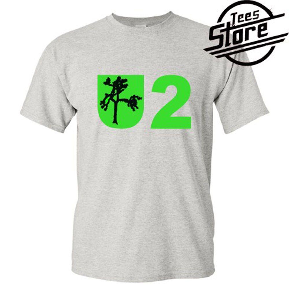 Gris T Shirt Taille S 3xlmen Femmes Unisexe Mode T Shirt Livraison Gratuite Nouveau U2 Joshua Tree Rock Band Legend Hommes