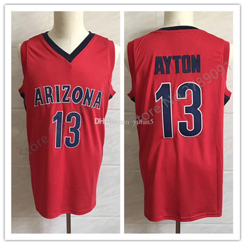 detailed look 40530 b7816 #13 Deandre Ayton Arizona Wilcats College Retro Classic Basketball Jersey  Mens Stitched Custom Number and name Jerseys