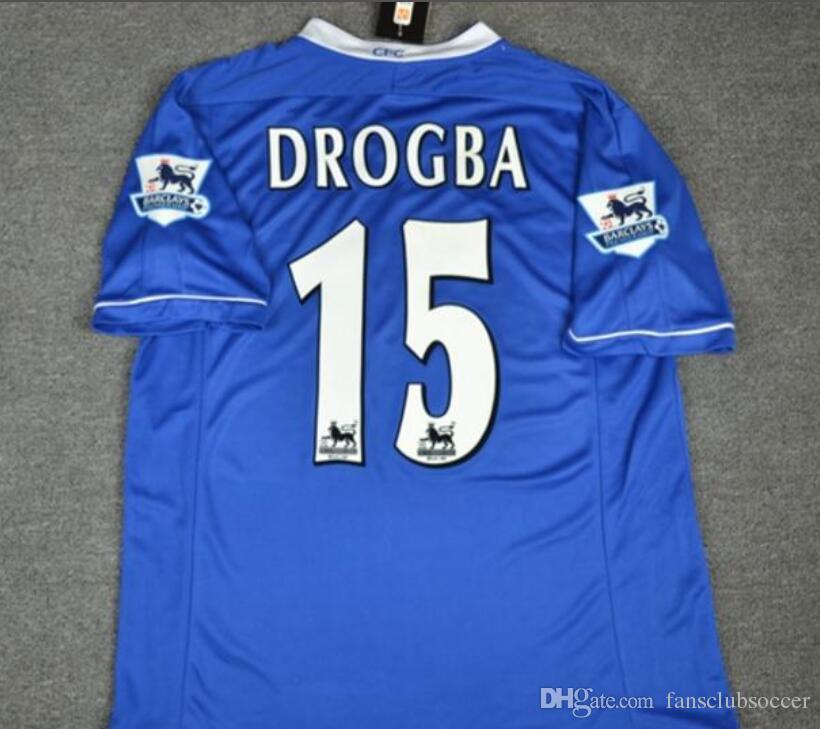 2019 03 04 05 06 Terry Drogba Lampard Soccer Jerseys 2003 2004 2005 2006  Terry Drogba Lampard Football Shirt From Fansclubsoccer eb3fc2460