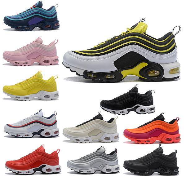 best quality Designer fashion luxury og shoes air 97 plus TN max men Wave Runner mens women retro Training 97s chaussures Sneakers0da2c