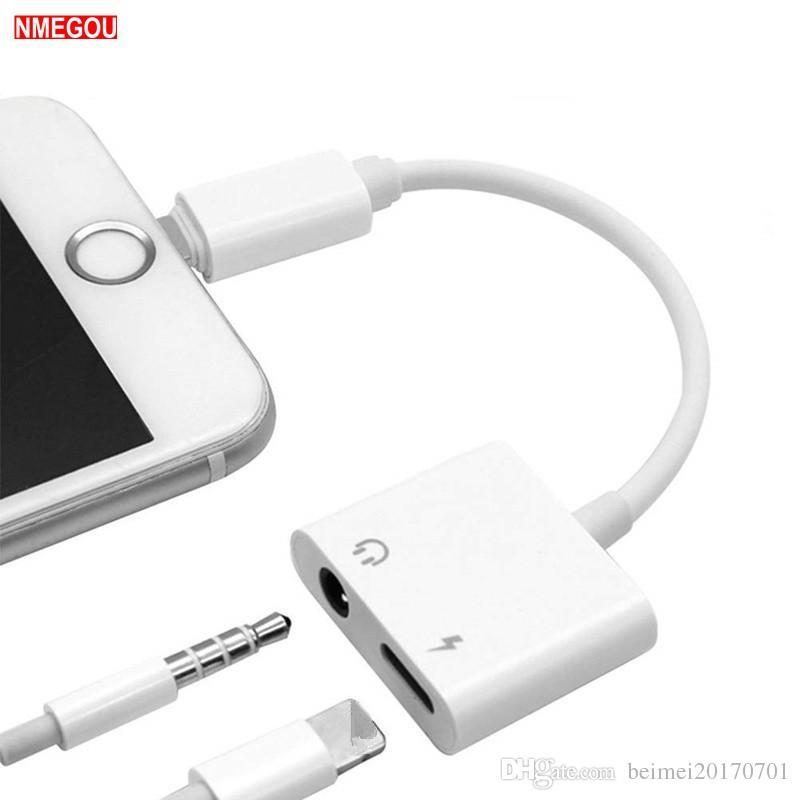 Acquista 2 In 1 Cavo Di Splitter Adattatore Adattatore Di Ricarica  Auricolare IPhone XR XS Max X 8 7 Plus Caricabatterie Musica Da Gioco Cuffie  Auricolari A ... 2210e5c3ac5c