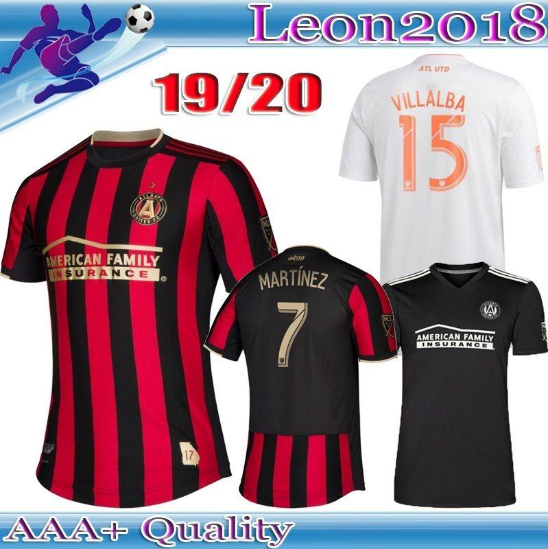 522572cd506 Thai Qualtiy 2019 2020 MLS Atlanta United FC Jersey ALMIRON MARTINEZ Home  Soccer Jerseys 19 20 VILLALBA Atlanta BARCO Away Football Shirts Jerseys  Soccer .