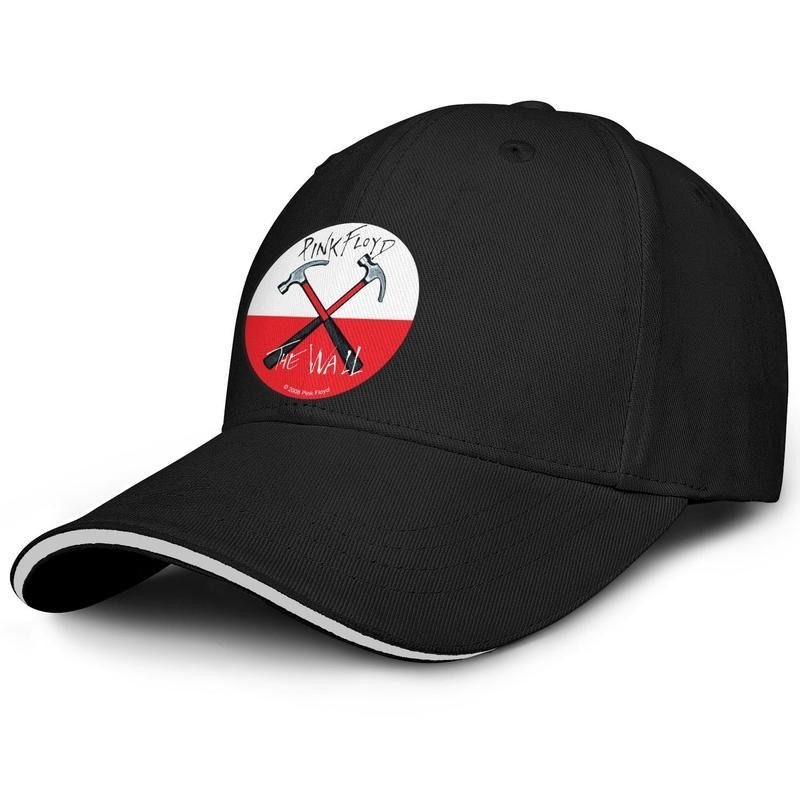 Sports Men Women Baseball cap Pink Floyd logo rock fitted baseball hats Wash hats 100% Cotton