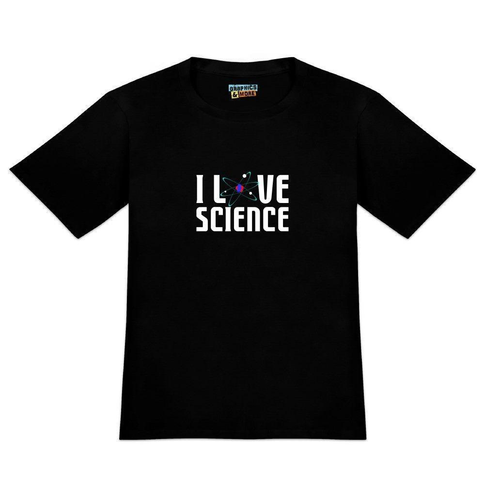 832ab8dc5 I Love Science Atom Men'S Novelty T Shirt 100% Cotton Casual Printing Short  Sleeve Men T Shirt O Neck Coolest Shirt Tees T Shirts From Lvtshirt, ...