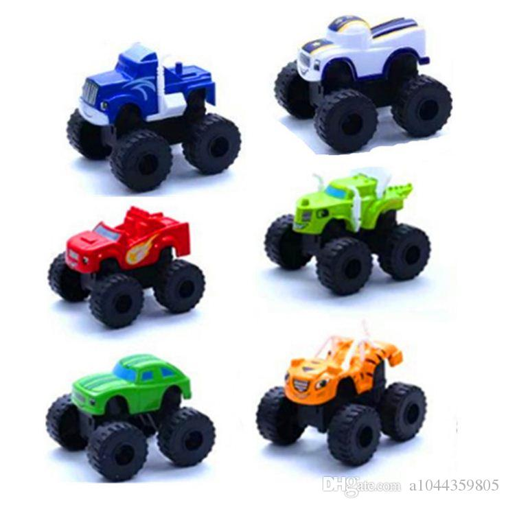 2019 Explosion Models Flame Car Cute Children Toys Cool Scooter Fashion Model Off-road Vehicle Variety of Colors