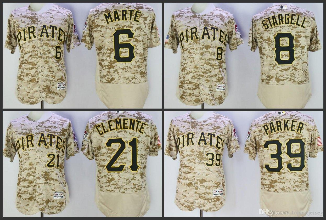 19dc95cb7 closeout 2019 new pittsburgh men pirates baseball jersey 6 starling marte 8  willie stargell 39 dave