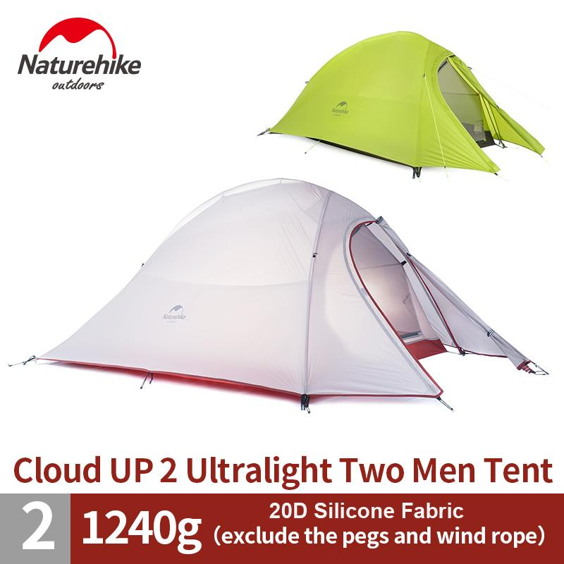 NatureHike 2 Person Ultralight Tent 20D Silicone Tent Double Layer C&ing Tent NH15T002 T Cheap Tent C& Tents From Sportblue $232.66| DHgate.Com  sc 1 st  DHgate & NatureHike 2 Person Ultralight Tent 20D Silicone Tent Double Layer ...
