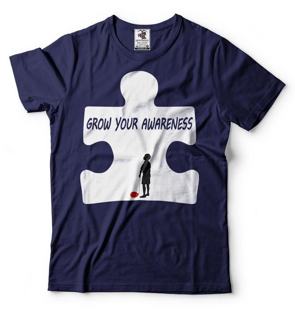 880fc306f0f Autism Awareness T Shirt Autism T Shirt Puzzle Piece Tee Shirt Men Women  Unisex Fashion Tshirt Order T Shirts Quality T Shirts From  Designtshirts201809, ...