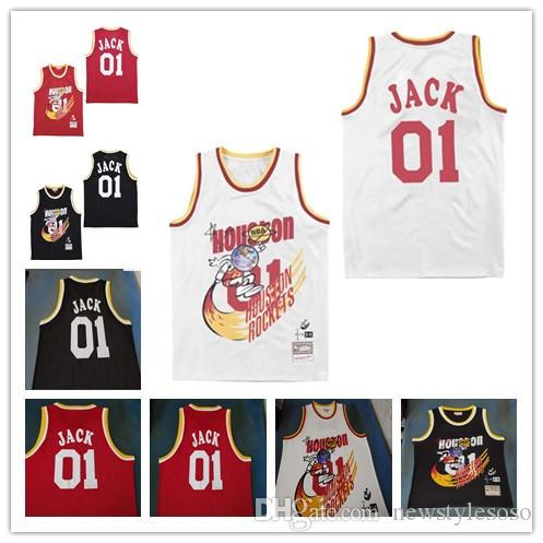 low priced 49e77 c5476 Mens Travis Scott X Br X Mn Houston Jersey y Black White Red Jointly  Bleacher Report Special Edition Hippop Basketball Jerseys