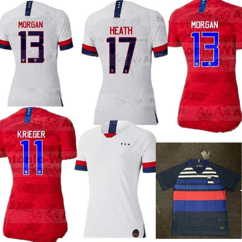 408c68b82c5 2019 Women World Cup 2019 America Girl Soccer Jersey Men United States Home Away  Football Shirt USA Women 3 Star LLOYD RIPINOE KRIEGER Camiseta From ...