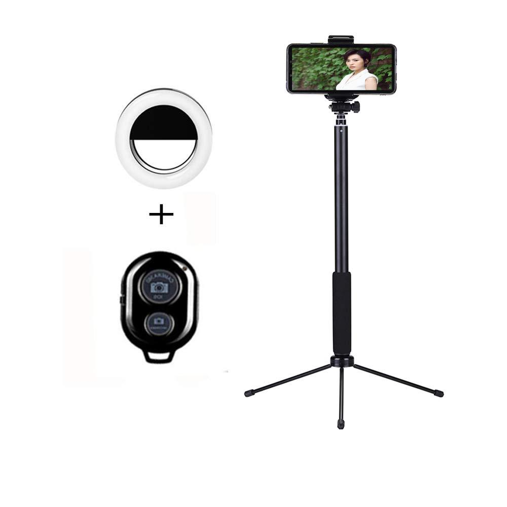 f9b926af27c6fb 2019 Selfie Stick Bluetooth, Wireless Remote Selfie Stick With Tripod Stand  And Light Compatible For IPhone X/ 8/8 Plus/7/7 Plus From Houyanwei88, ...