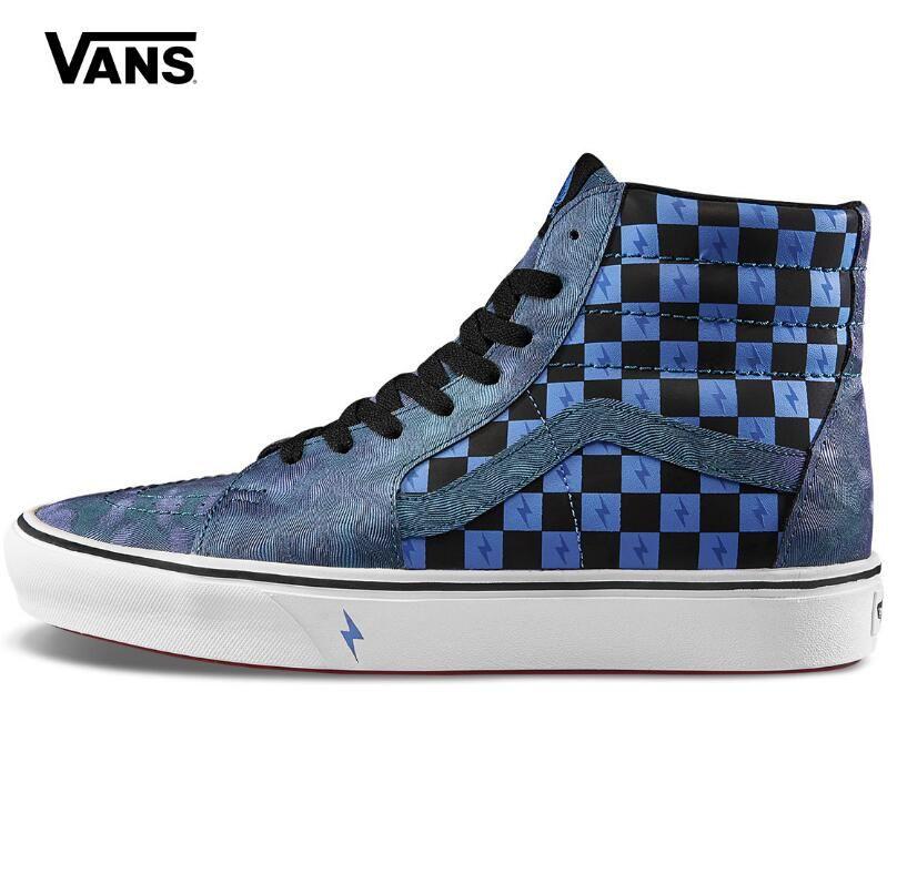 d82d89429ba63 2019 Harry Van x Gogh Potter Unisex Comfycush Sk8-Hi  Shoes,Transfiguration/Tue Wihte/Blue