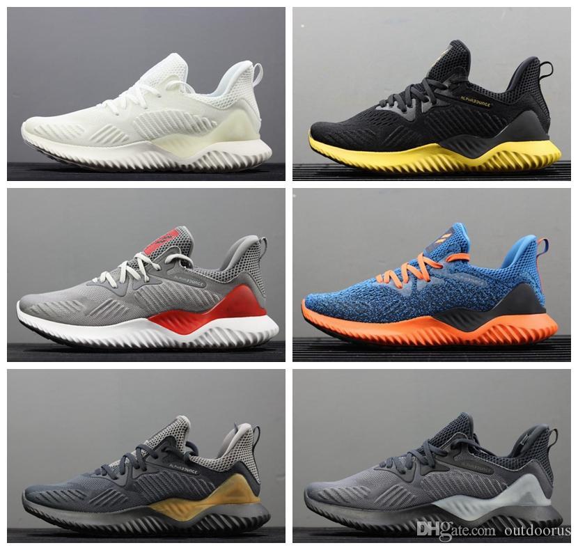 4fcb8341f Satın Al ADIDAS Yeni Marka Sıcak Satış Alphabounce EM 330 Rahat Ayakkabılar  Alfa Sıçrama Hpc Ams 3 M Spor Eğitmeni Sneakers Adam Ayakkabı B ...
