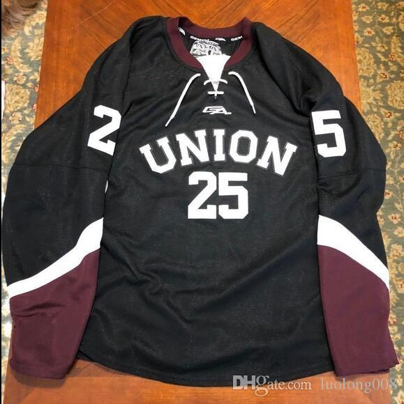 2019 Vintage Union Road  25 Walker Hockey Jersey Embroidery Stitched  Customize Any Number And Name Jerseys From Luolong008 18fd0f286