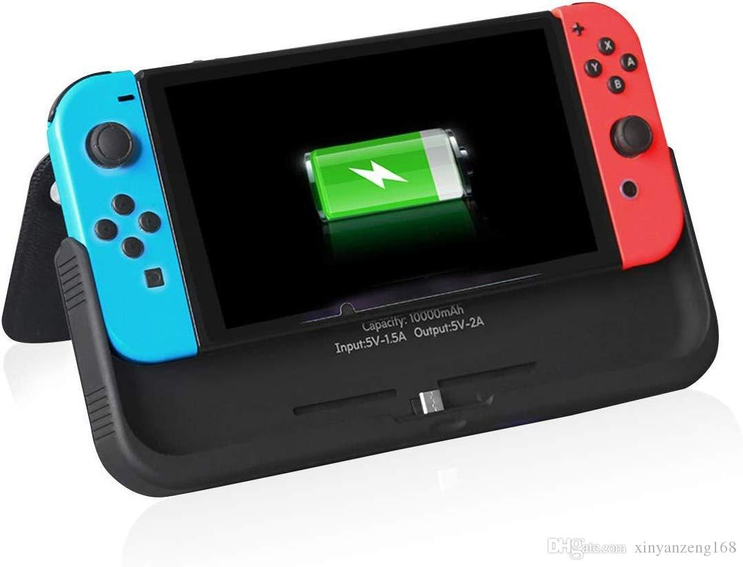 check out 5ead6 1d533 360 Protection Backup for Nintendo Switch Case with Charger, 10000mAh Power  Bank,with Flip Cover