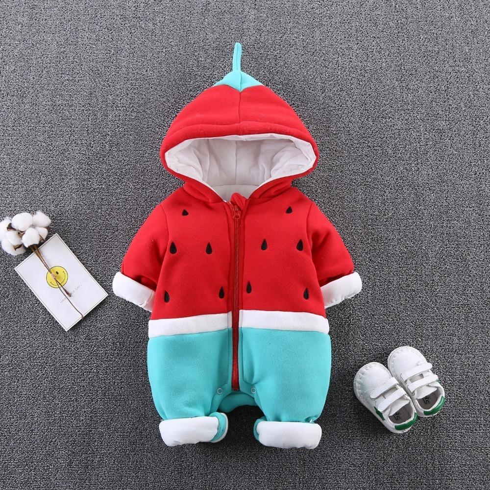 352e5dfcd723 HYLKIDHUOSE 2018 Winter Infant Newborn Rompers Baby Girl Boy ...