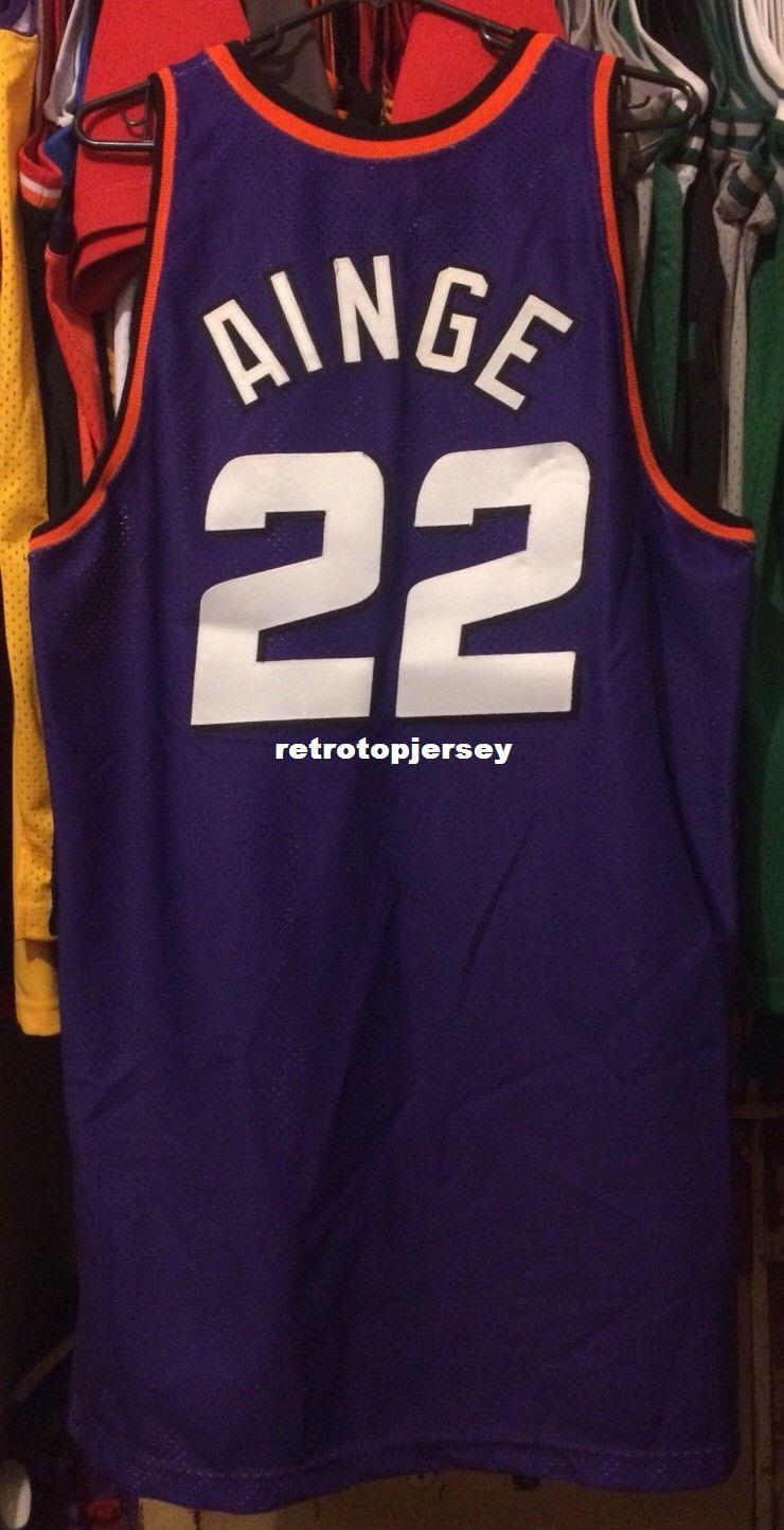 hot sale online c082d 0fba4 Cheap wholesale Danny Ainge #22 Pro Cut Team Issued Jersey T-shirt vest  Stitched Basketball jerseys Ncaa