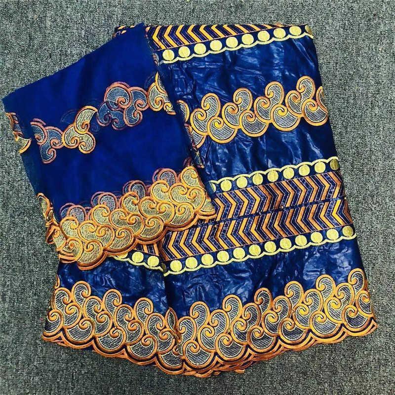 """1 M 46/"""" Wide riche Poly Coton Star Craft Tissu Bleu Azur et Blanc"""