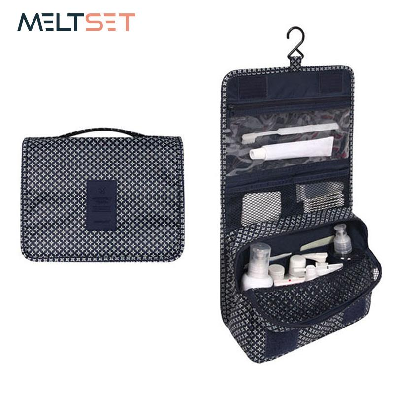 2018new Travel Waterproof Sport Bag Organizer Women Cosmetic Makeup Storage Bag Wash Shower Bath Bag Gym Pouch Storage Bags
