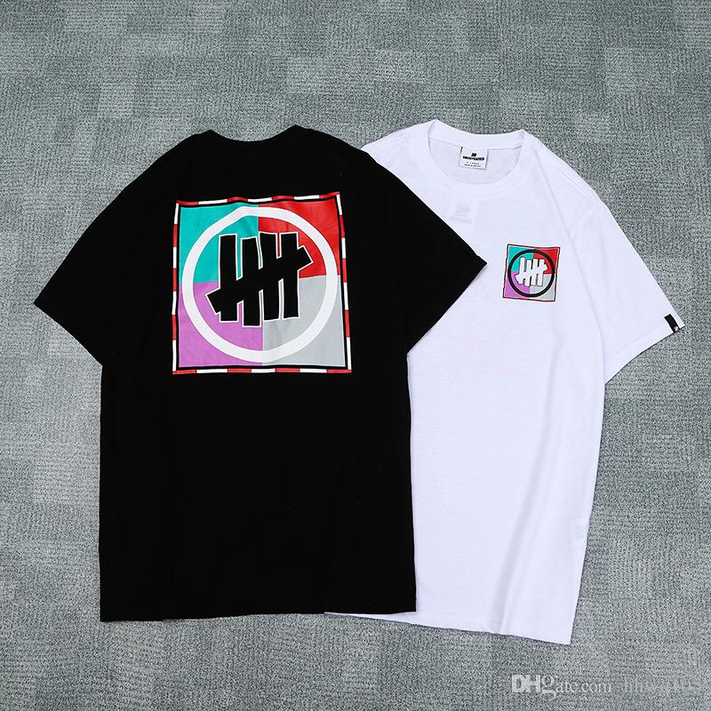 7b5dc5a5517c0 New Arrival UNDEFEATED Men Women 100% Cotton Shirts Short Sleeve O Neck  Jogger Top Unisex Skateboard Tee PXI0301 Shirt Site Printing Of T Shirt  From Hhwq105 ...