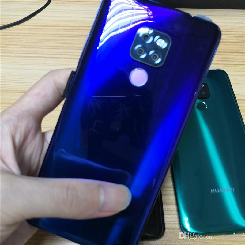 2019 New 6.5 inch water drop screen Cheap Mate20 Pro Smartphone MTK6580P Quad Core 1GB+4G Mobile Phone 3000mAh Capacity Battery