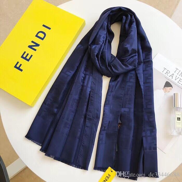8e63e05eec00 2019 Brand Class Design Autumn Famous Designer Scarf Ladies Fashion Letter  VV Luxury Cashmere Scarf Shawl High Quality 140   140 Cm 0028 Headscarves  ...