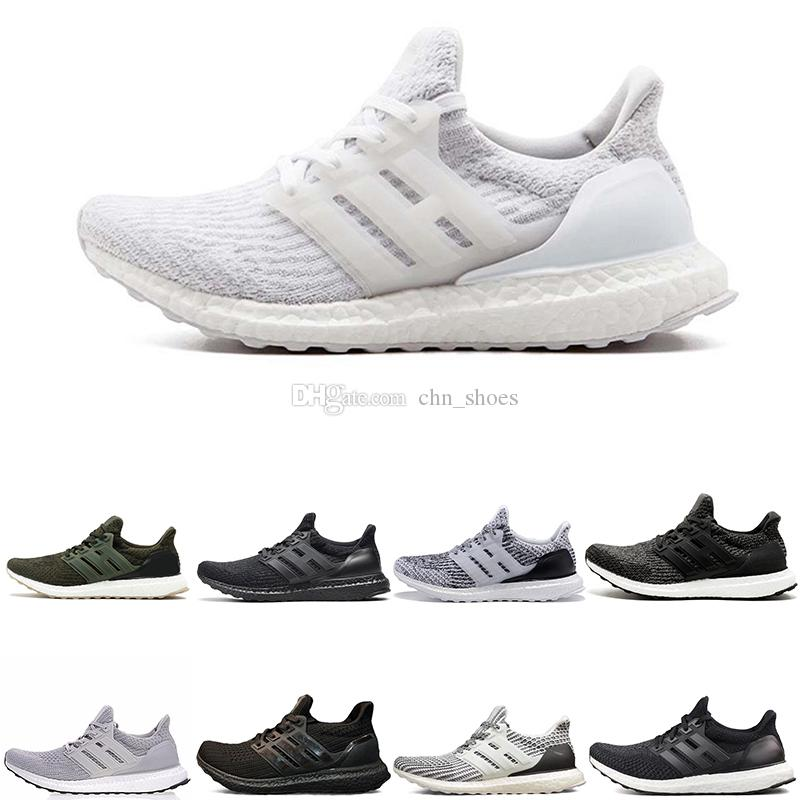 f41ae5c271fc5 Ultra Boost 3.0 4.0 Ultra Boost Mens Running Shoes Sneakers Women Trainers  Sport UB CNY Core Triple Black All White Grey Us5 11 Running Shoe Best  Running ...