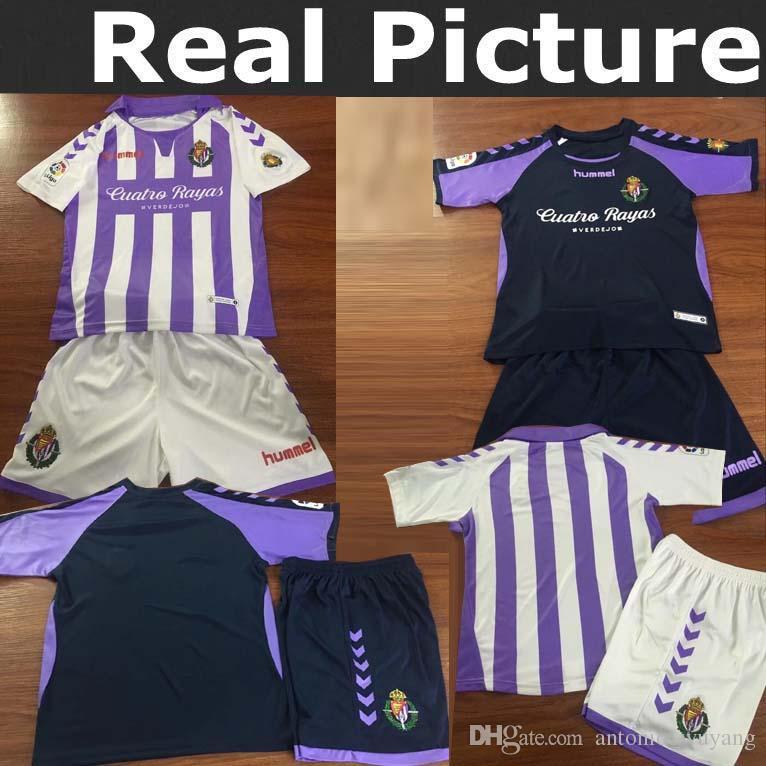 TOP Niños S XXL 18 19 Camisetas De Fútbol De Valladolid 2018 2019 HOGAR  Niños Real Valladolid Jaime Mata Michel Borja Luismi Camisetas De Fútbol De  Jaime ... b9f14d5248467