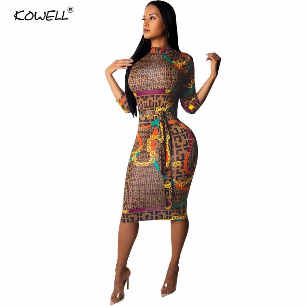 Fashionable Sexy Bodycon Bandage Women Dress Long Sleeve Autumn Winter Sexy dresses party night club dress 2019 Plaid