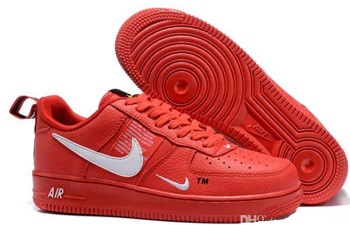 Air force one AF1 is red, black and white