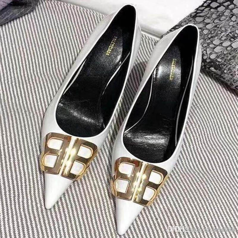 1406f4bc342 New Korean Fashion Wild Pointed Non-slip High Heels Single Shoes ...