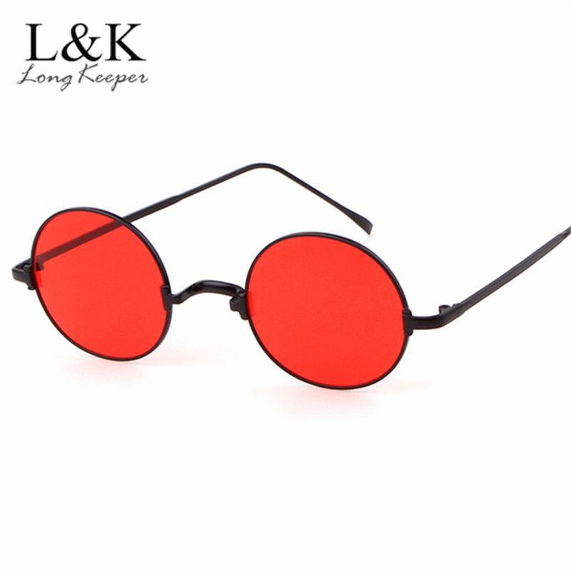 3a3db249bf Retro Hiphop Metal Vintage Round Sunglasses Women Circle Ocean Lens Sun  Glasses Super Hippie Style For Men Female UV400 John Lennon Sunglasses  Wiley X ...
