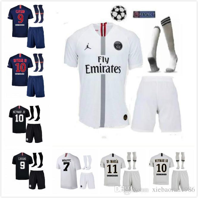 024235269 Champion League 18 19 MBAPPE PSG Soccer Jersey 2018 2019 Paris ...