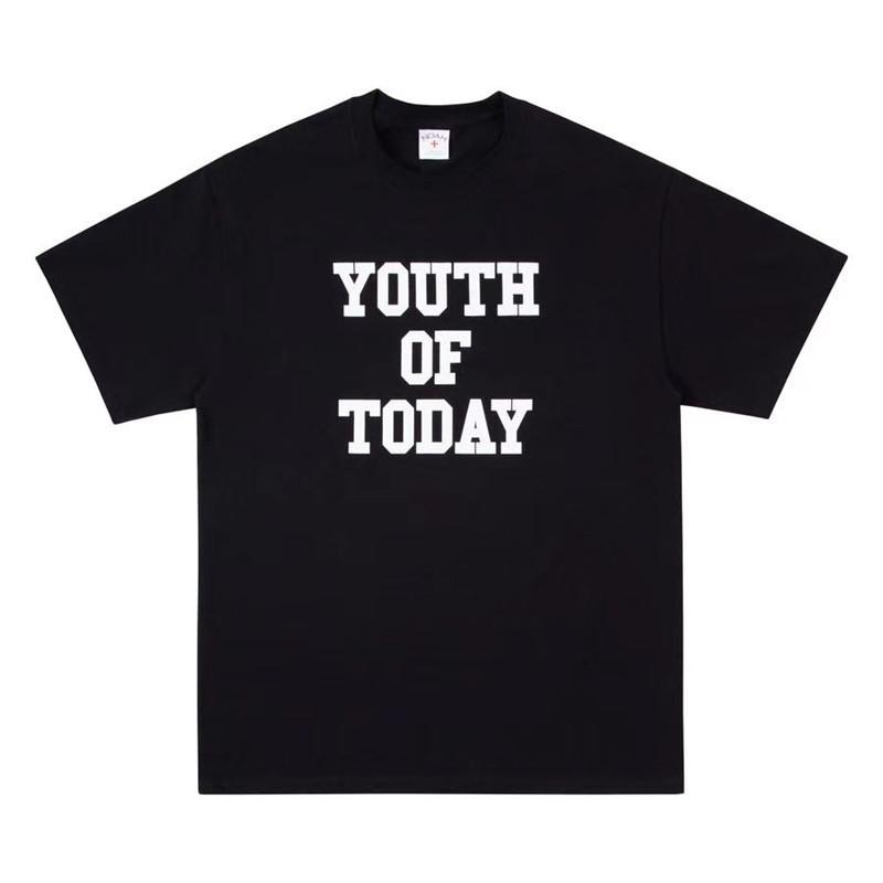 T-shirt 19ss Noah YOUTH OF TODAY T Shirt Uomo Donna T-shirt 1: 1 di alta qualità NOAH Top Tees