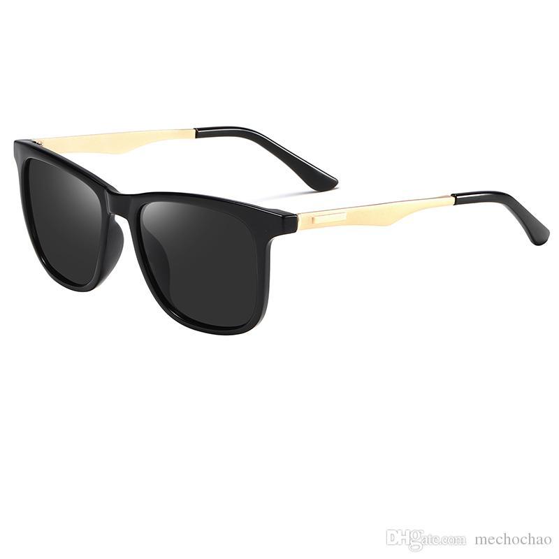 b9c6b42120b93 High Quality Polarized Lens Pilot Men S And Women S Fashion Sunglasses  Brand Designer Vintage Sport Sunglasses Gold Frame Sunglasses Spitfire  Sunglasses ...