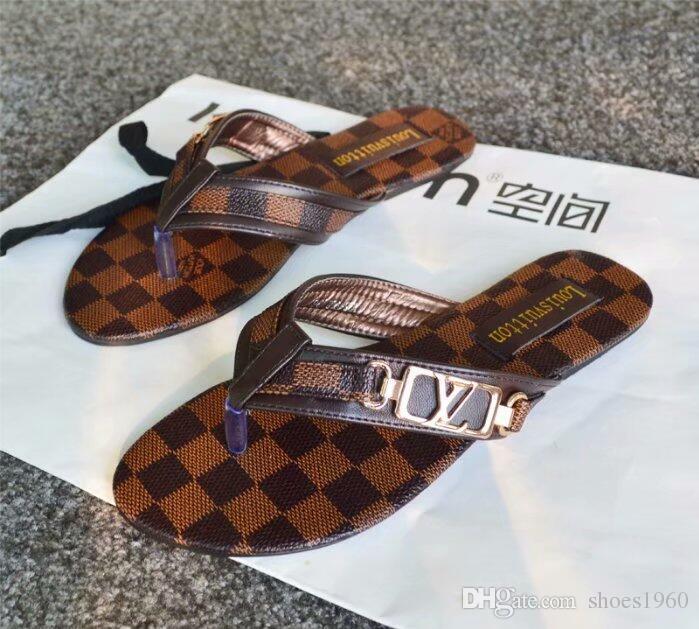 157cfe7ead57 GgggBrand Women Sandals Big Size 35 42 Designer Shoes Luxury Slide Summer  Fashion Wide Flat Slippery With Thick Sandals Slipper Flip Flops Pink Shoes  Salt ...