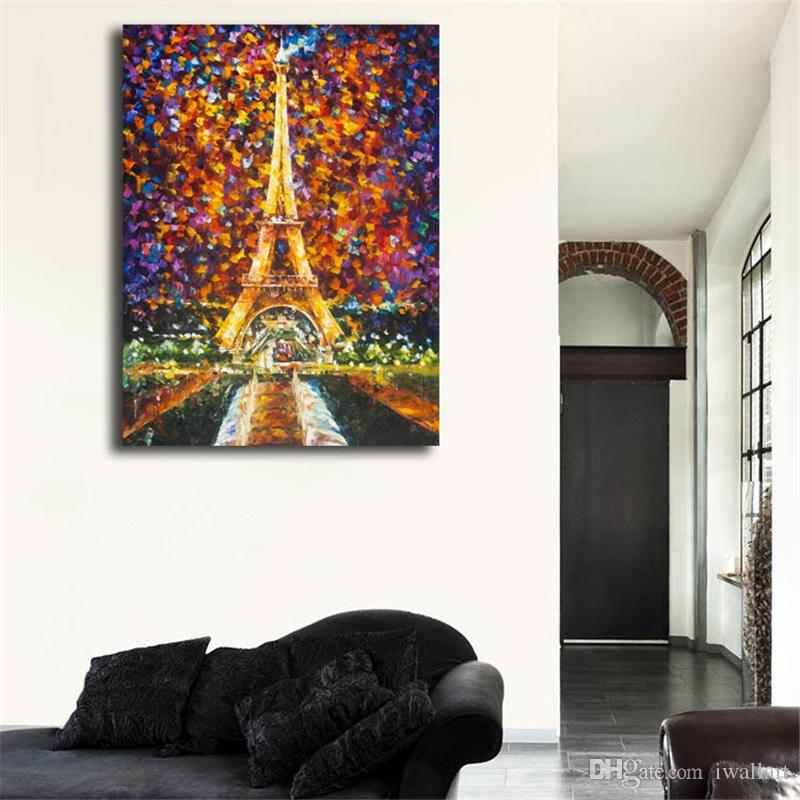 Best Of Eiffeles Tower Memories HD Canvas Painting Print Bedroom Home Decor Modern Wall Art Oil Painting Poster Salon Picture