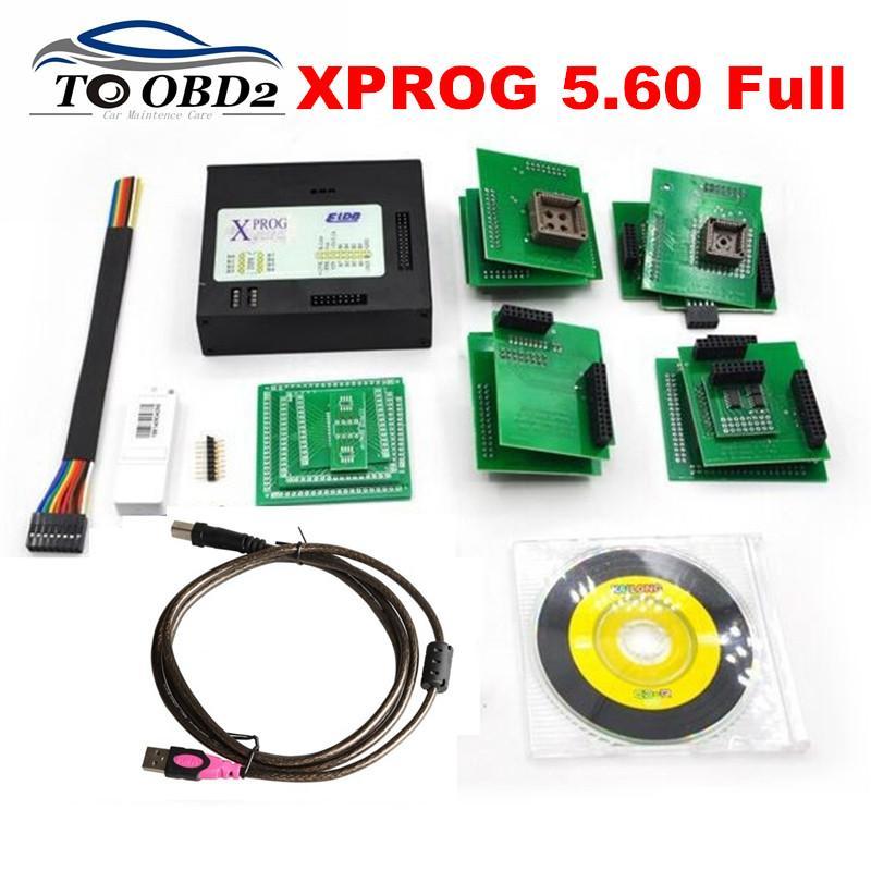 Best Quality XPROG Metal BOX Hardware ECU Programmer Interface XPROG M  V5 60 Latest Upgrade of V5 55 X-PROG Express Fast
