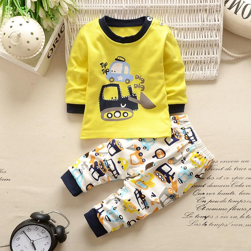 e27dfde5d 2019 2018 Baby Boys Clothes Newborn Baby Girls Cartoon Clothing ...