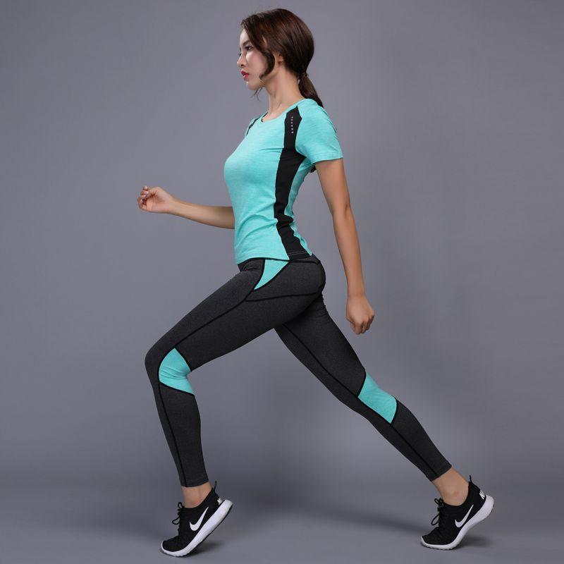 Femme Acheter Compression Sportswear Femmes Running Costumes gqpXw4gr6