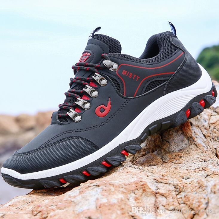 c377f62f5bee77 Men s Outdoor Shoes Hiking Shoe 2018 Autumn Sports Shoe Breathable Travel Shoes  Men s Waterproof Non-slip Low to Help Men s Shoes Mens Shoes Designer Shoes  ...