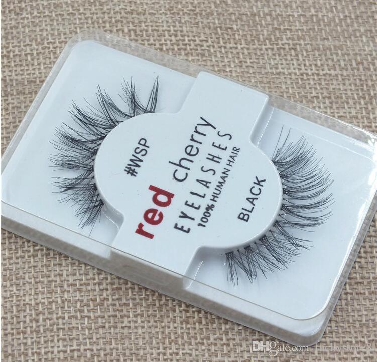 29757f88531 Factory Directly RED CHERRY False Eyelashes Natural Long Eye Lashes  Extension Makeup Professional Faux Eyelash Winged Fake Lashes Drop Ship Longer  Eyelashes ...