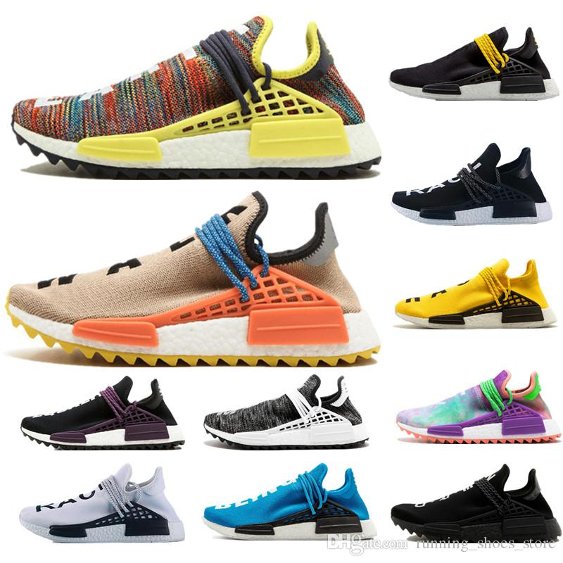 8fb3d8303614b 2019 Holi Human RACE HU Nmd Pharrell Williams Trail Mens Designer Sports  Neutral Spikes Running Shoes For Men Sneakers Women Casual Trainers Shoe  From ...