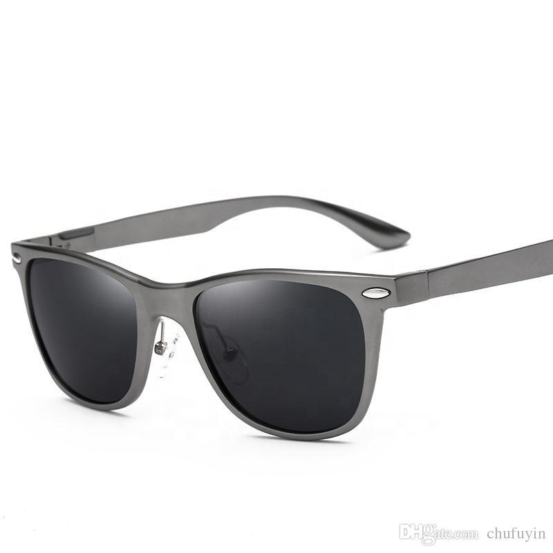 Compre Gafas De Sol Vintage De Lujo Con Logotipo De Magnesio Y Aluminio  2018 Para Exteriores A  80.21 Del Chufuyin  4dd69ff4ee32
