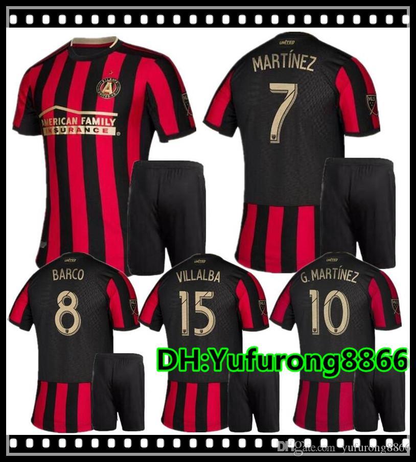 0714c09bae2 2019 Adult Kits 2019 2020 MLS Atlanta United FC Jersey G.MARTINEZ MARTINEZ  Home Soccer Jerseys 19 20 Youth VILLALBA BARCO Football Shirts From  Yufurong8866