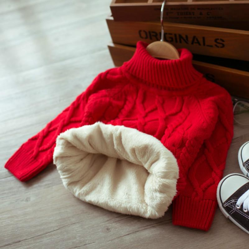 ec80cb56d Children Autumn And Winter Warm Clothes Kids Boys And Girls Thick ...