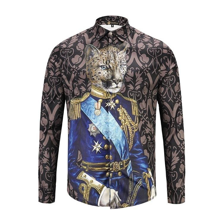 149516d6d830b Compre Nuevas Camisas De Diseñador De Moda Para Hombre De Manga Larga Y  Camisas De Moda Calidad Exquisita Y Auténtica Camisas Casuales Marca  Original 001 ...