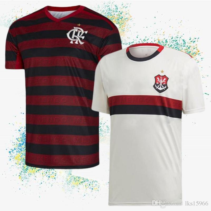sports shoes 9ab53 3ad8d CR Flamengo Jerseys 2019-2020 New GUERRERO DIEGO Soccer Jerseys VINICIUS JR  Flamengo football suit Customizable adult shirt