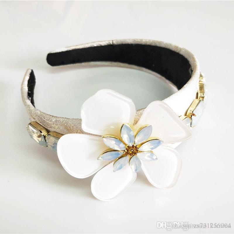 Rose Flower Hairband Floral Garland Parenting Crown Headband Photography Props